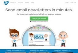 Create, post, manage and analyze your email marketing campaign