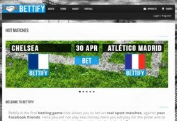 Bettify, betting goes social