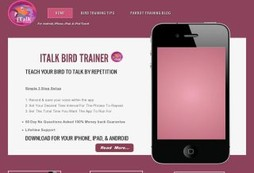 iTalk Bird Trainer