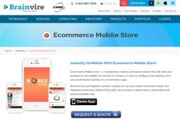 Ecommerce Mobile Store