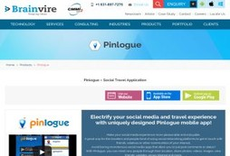 Pinlogue – Social Travel Application