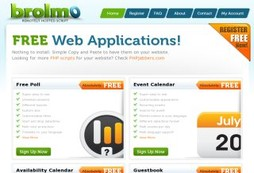 Brolmo Free Web Applications