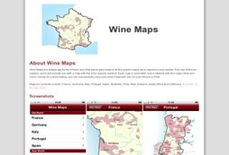 Search for worldwide wine regions in your pocket