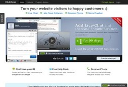 ClickDesk Live Chat & Help Desk Software