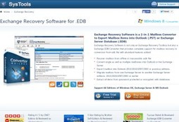 Convert Exchange Database with EDB to PST Converter