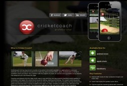 Keep a cricketing coach in your pocket