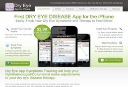 Dry Eye App for the iPhone