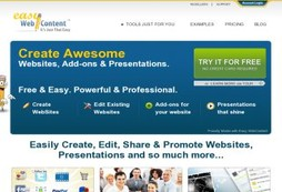 Add rich interactive content to your site easily