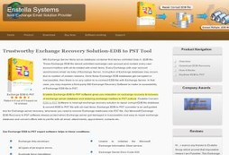 EDB to PST Software