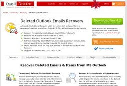 Deleted Outlook Emails Recovery Tool