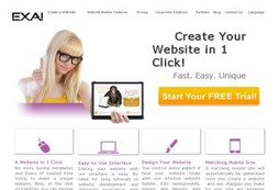 EXAI Website Builder