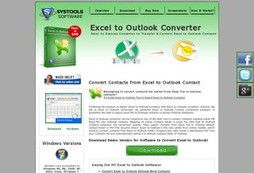 Excel to Outlook Converter