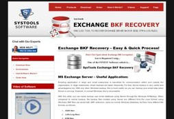 Exchange Backup Recovery