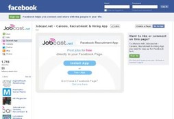 Employment and jobsearching on your social network