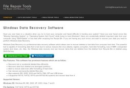 Windows Data Recovery Solution