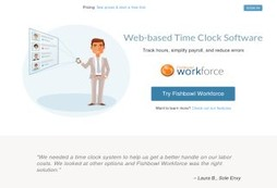 Fishbowl Workforce - Employee Time Clock