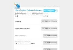 More followers on twitter