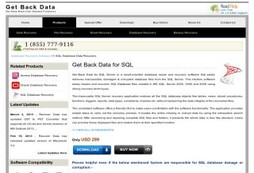 Smart MDF File (MS SQL) Recovery Software