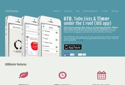 GTD, ToDo Lists & Timer by GSDfaster