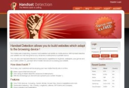 Handset Detection