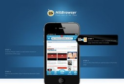 HitBrowser Flash video player for iPhone