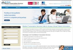 How to Make Sure You Get the Finest from Your Medical Transcription Company India