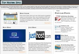 Top Hosting Sites