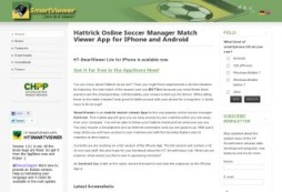 HT-SmartViewer Hattrick iPhone App