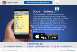 Super Notepad and Memo Pad - Create, store & retrieve notes in text, audio & images (Pro Version)
