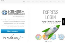 Kemesa Password Manager