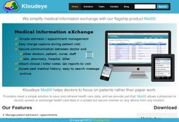 Kloudeye Medix - simplified MEDical Information Exchange for Doctors