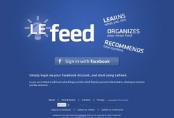LeFeed - Organizes News Feeds and Recommends New Stuff