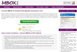 Convert MBOX to Outlook