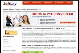 Export Emails from MBOX to PST