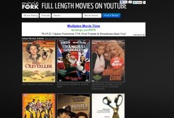 Watch thousands of full length movies for free on YouTube