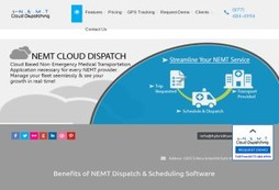 NEMT Cloud Dispatching