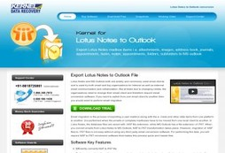 Convert Lotus Notes (NSF) to MS Outlook (PST)