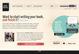 A step by step guide to help you write your first novel