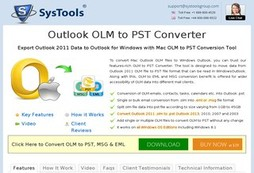Outlook Mac Exporter 5.4 Edition for OLM to PST Conversion