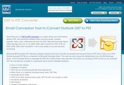 Best Convert OST to PST Application