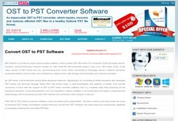 Convert OST to PST Software  – Email File Rescuer - Best OST to PST Apps