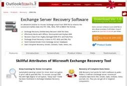 Mailbox Recovery Tool for Exchange Server EDB