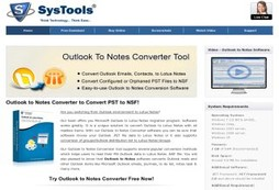 Outlook to Notes Conversion