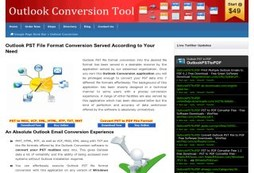 Convert PST to MSG, PDF, EML or VCF - Comprehensive Outlook Conversion & Recovery Software Is Here