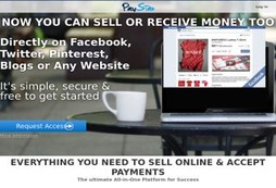 Monetize your social network or blog and accept credit cards easily online