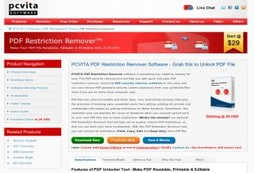 PDF Unlocker – Easily Unlock Edit, Print, Copy Restriction