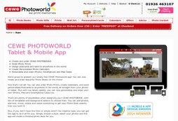 CEWE PHOTOWORLD Tablet & Mobile App