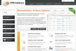Bulk email marketing script and mailing list manager