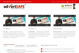 New advertSAFE WordPress Plugin Site!