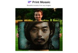 Turn your portraits into amazing mosaics